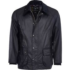 The Original Barbour Bedale waxed Jacket In a Corduroy Collar  Size 48