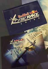 Japan RED BULL AIR RACE mini-poster CHIBA 2016 AND sticker x2 combine w/ Monster