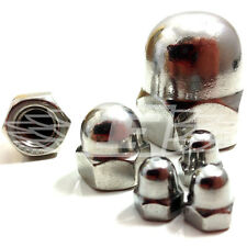10, M16 A2 STAINLESS DOME NUT, DIN 1587 - FREE POST
