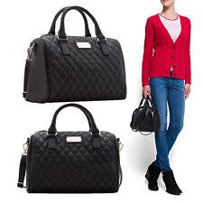 Heiß Mode Frauen Handtasche Schwarz Eimer Große Schultertasche Taschen Neu
