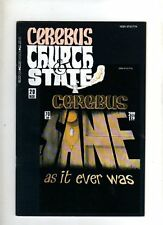 CEREBUS CHURCH & STATE -  USA COMIC  - # 20  - NOV 1991  -VG