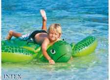 Lil Sea Turtle Ride On Inflatable Kids Swimming Pool Float Raft Beach toy blowup