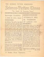 SCIENCE FICTION TIMES #273 - 1957 - J. Allen St. John obit by Forrest J Ackerman