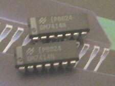 DM7474N Hex Inverter with Schmitt Trigger Inputs DIP National SC.1pcs