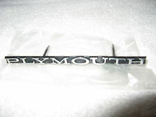 NEW Mopar Reproduction 1970 Plymouth Barracuda Grille Emblem