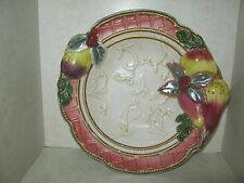 "Fitz and Floyd FOR ALL SEASONS 7 1/2 "" Fruit Potpourri BOWL"
