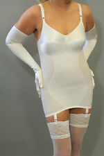 Silhouette Madame X Open Corselette, 34D/White; MSRP: $68.00; girdle