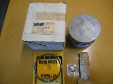 NOS YAMAHA OEM 0.50 O/S (2nd os) Piston Assembly Kit 1980 YZ465 MX 3R5-11630-20