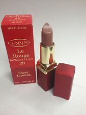 Clarins Le Rouge Sheer Lipstick 20 0.12 Oz/ 3.5 G LOT L NIB