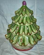 PFALTZGRAFF  HOLIDAY SPICE CHRISTMAS TREE  COOKIE JAR  --  NEW (no box)