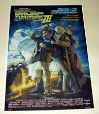 "BACK TO THE FUTURE III CAST X3 PP SIGNED POSTER 12""X8"""