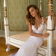 New White ivory Wedding dress Bridal Gown custom size 6-8-10-12-14-16