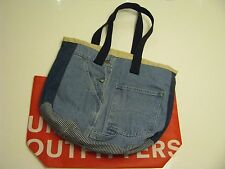 Urban Outfitters Authentic Men & Women  Urban Renewal Remade Overall Tote Bag