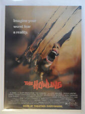 1981 Print Ad The Howling Horror Movie Promo Preview ~ Imagine Your Worst Fear