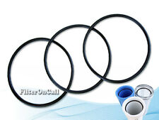 "Set of 3 O-ring for RO Slim Filter Housing 3 5/16"" inside diameter"