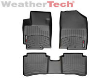 WeatherTech Floor Mats FloorLiner for Hyundai Accent - 2012-2016 - Black