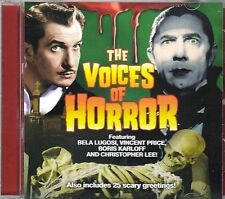 THE VOICES OF HORROR: CLASSIC HALLOWEEN MOVIE LINES, SOUND EFFECTS & GREETINGS!
