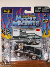 Muscle Machines 1969 DODGE Charger M/M  1:64 MM Maisto 13.1 Die Cast