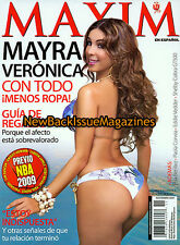 Spanish Maxim 11/09,Mayra Veronica,Elsa Benitez,November 2009,NEW