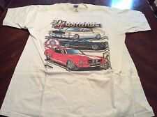 Race Bred Mustangs True Horses Size L T Shirt Ford Mustangs