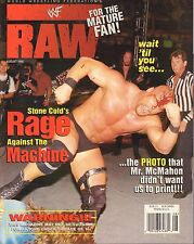 WWF Raw August 1998  McMahon, Stone Cold VG 050416DBE