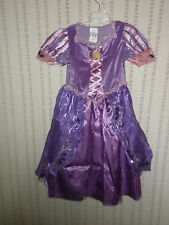 Disney Parks Tangled Rapunzel Girls Costume SMALL 6  NEW dress up