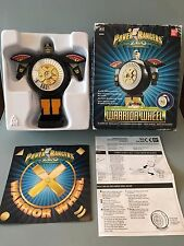 Power rangers  Zeo warrior wheel 100% complete with box and inner tray