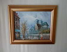 Framed Impressionest Oil Painting By P. Nielsen - Truly Lovely