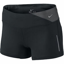 New Nike  Shorts L (UK 16-18)/ Womens Dri-Fit Epic Running/Black/ gym/fitness
