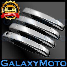 07-13 GMC Sierra+1500+2500+3500+HD Crew Cab Chrome 4 Door Handle w/o KH Cover