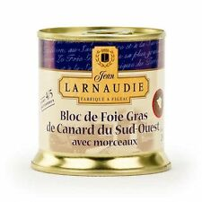3 x french duck foie gras  3/4 serves LARNAUDIE  5,29 oz