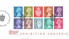 GB 2000 Stamp Show 2000 Matthews Pallete minisheet SGMS2146 fine used set stamps