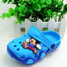 Girls Boys Kids Unisex Infants Clogs Mules Summer Beach Sandals Flip Flops Shoes