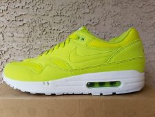 Nike Air Max 1 Atomic Green White Tennis Ball 308866 331 Size 10.5