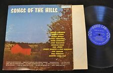 Jimmie Osborne Clyde Moody Jack Cardwell Audio Lab 1515 Songs Of The Hills