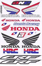 1 sh. hrc honda wing crf racing one ind decal sticker vinyl die cut