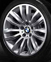 "BMW OEM E84 X1 SUV 18"" LA Wheel Double Spoke 321  Set of 4"