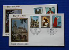Vatican City (495-499) 1970 Visit of Pope Paul VI to the Far East FDCs
