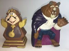 VINTAGE 1990 DISNEY BEAUTY AND THE BEAST PUPPET SET PIZZA HUT PROMO