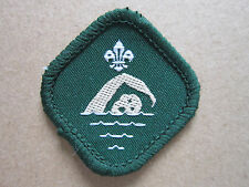 Advanced Swimmer Proficiency Woven Cloth Patch Badge Boy Scouts Scouting
