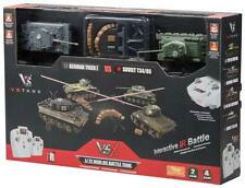 VsTank VSX 1/72 Tiger I/T34 IR Battle Tank Set