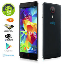 "UNLOCKED! ANDROID 4.4 KK 5.5"" CAPACITIVE TOUCH 3G DUAL-CORE DUAL-SIM SMARTPHONE"