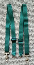 Leg Straps, Green x 2 (pair) Stable/Turnout rug.Trigger clip and loop. BN!!