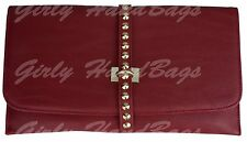New Red Orange Marsala Clutch Bags Snake Patent F Leather Patent Wedding Outfit