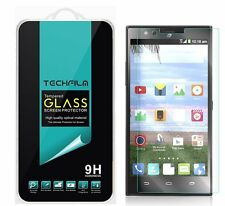 TechFilm® Tempered Glass Screen Protector Saver Shield For ZTE Lever LTE