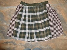 TopShop Skirt Size 8 BNWT £45 Tartan Kilt Wrap Around Dress Up Pink Grey Pleated