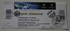 OLD TICKET CL Dinamo Zagreb Croatia FC Porto Portugal