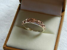 Clogau Silver & Welsh Gold Tree of Life Ring size P RRP £280.00
