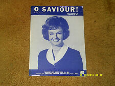 Dale Evans sheet music O Saviour! 1967 5 pages (VG shape)