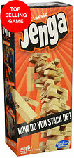 Jenga Classic Game by Hasbro Stacking Wooden Tumble Wood Blocks Tower EBiz
